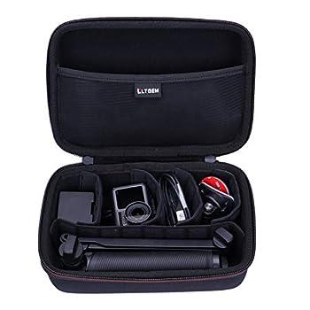 LTGEM EVA Hard Case for GoPro Hero Series or DJI Osmo Action Cam Digital Camera(Removable Inner)