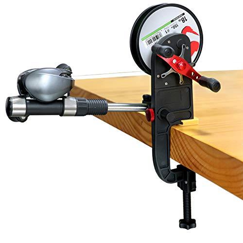 thkfish Angelschnurwickler System Maschine für Baitcast-Spinnrolle Angelschnurwickler Maschine