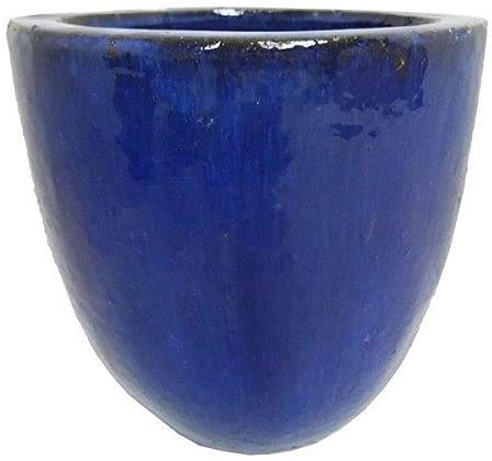 Pots/Plants Circular Container 45 cm,Blue