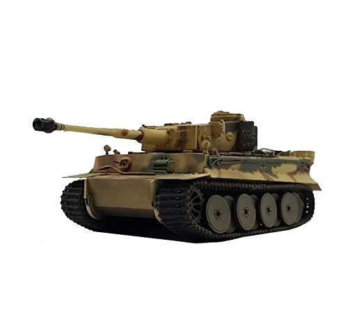 JHSHENGSHI Plastikmodell im Maßstab 1:72, frühes Modell eines Deutschen Deutschen Tigerpanzers, Sammlerstücke und Geschenke für Erwachsene, 4,7 Zoll x 2,4 Zoll