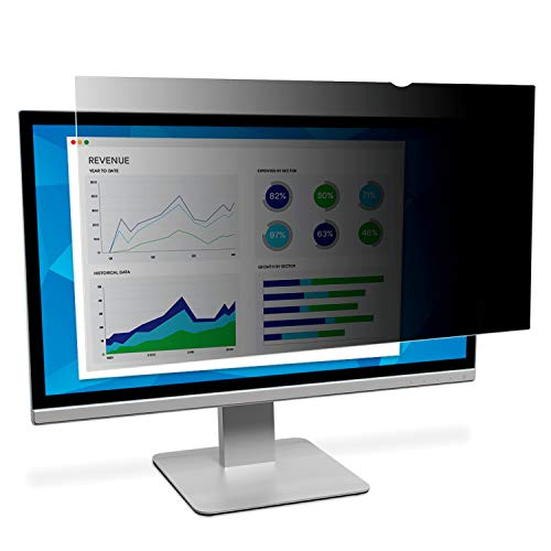 """Filtro de privacidad 3M PF190C4B para monitor estándar de 19 """", 5: 4, Negro"""