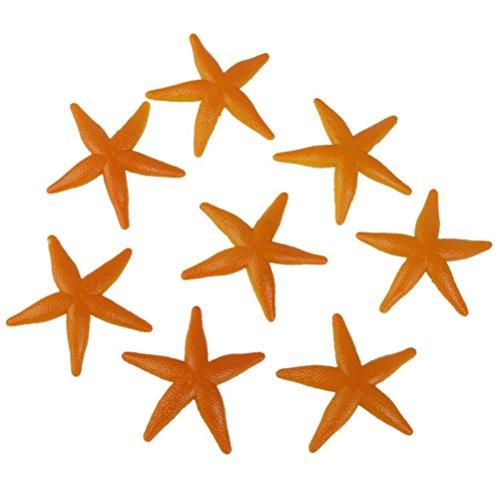 Pixnor Étoiles jouet en plastique modèles Étoiles Jouet enfants série - 8 pièces