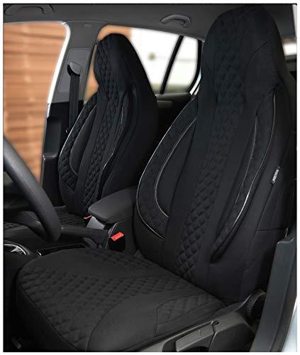 Maß Sitzbezüge kompatibel mit Mercedes A-Klasse W168 Fahrer & Beifahrer ab Farbnummer: PL404