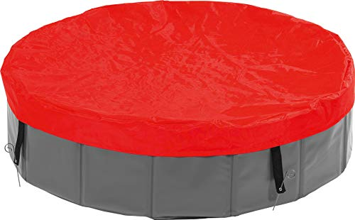 Karlie 31809 Doogy Pool Cubierta Piscina, Rojo, Ø 160 cm, L