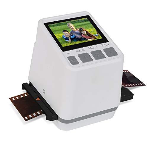 "Digital Mini Film & Slide Scanner Converter- Converts 110, 126, 135 (35mm) & Super 8 Film Negatives & Slides to HD Digital JPEG Photos with 2.4"" LCD Display"