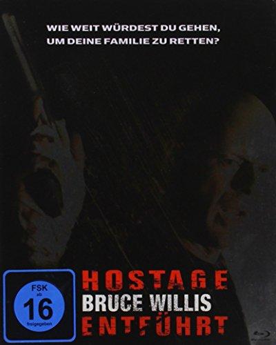 Hostage - Entführt - Steeledition [Blu-ray]
