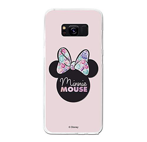 La Casa de Las Carcasas Carcasa Oficial Disney Minnie, Pink Shadow para Samsung Galaxy S8