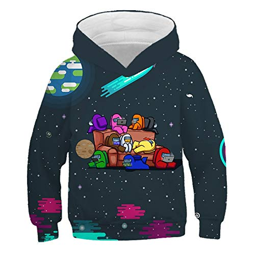 XIAOXIANNV Super Movie Game Robot 3D Pullover Hoodie Kinder Cartoon Druck Super Light Print Junge Mädchen Kleidung Sweat Shirt Casual Street Clothi