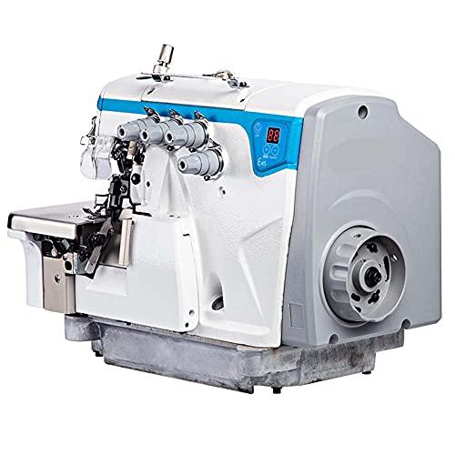 FFYUE Máquina De Hemming Inteligente Industrial Totalmente Automática, Máquina De Dobladillo, Tipo De Cuatro Agujas, Adecuado para Coser Ropa para Niños, Ropa Deportiva, Etc
