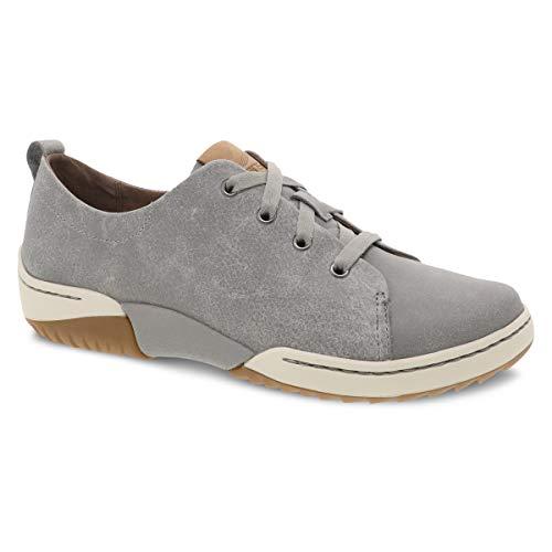 Dansko Women's Renae Grey Comfort Sneaker 9.5-10 M US