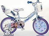 BICICLETTA DINO BIKES Bici Misura 16 Frozen Art. 164R-FZ3 Modello Nuovo