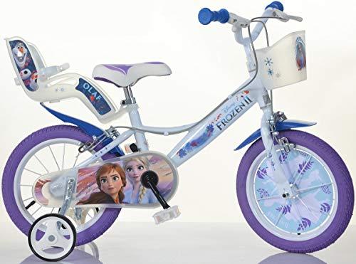 Cicli Puzone Bici 14 Frozen Dino Bikes Art. 144 R-FZ3 Modello Nuovo