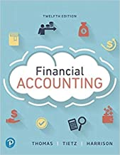 [0134725980] [9780134725987] Financial Accounting (12th Edition)-Hardcover