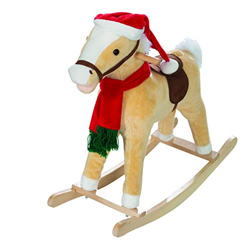 roba-kids 460123 - Rocking horse christmas, unisex, multicolor