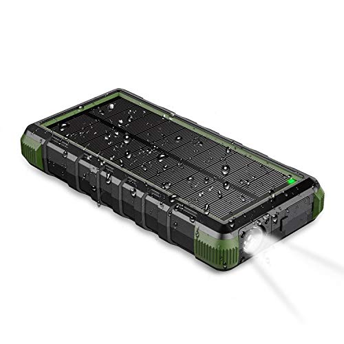 EasyACC 24000mAh rugged solar power bank and portable charger