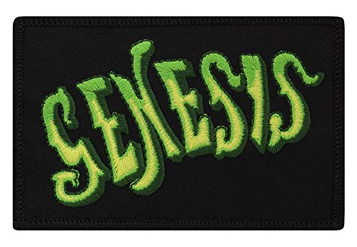 Genesis patch Classic Logo geweven patch 10 x 7 cm