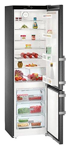 Liebherr CNBS 4015 Libera installazione 356L A++ Nero frigorifero con congelatore