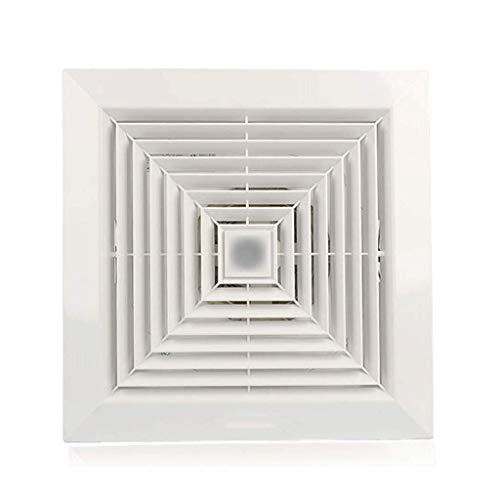 Extractor De Baño, Ventilador de extractor de baño, ventilador de extractor de cocina baño integrado techo de 9 pulgadas ventilación ventilador incrustado tipo de techo mudo