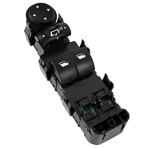 Interruptor de botón para elevalunas delantero izquierdo y derecho, interruptor para coche, interruptor de botón de presión OE: 6554.HE