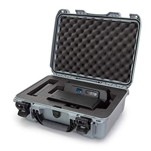 Nanuk 925 Hartschalenkoffer für Matterport Kamera, wasserdicht, mit Schaumstoffeinlage, silberfarben