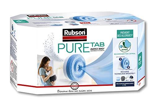 Rubson - Ricariche in pastiglia Aero 360 per assorbitore, confezione da 4