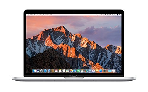 Apple MacBook Pro 13' (Mid 2017) - Core i5 2.3GHz, 8GB RAM, 128GB SSD - Silver (Renewed)