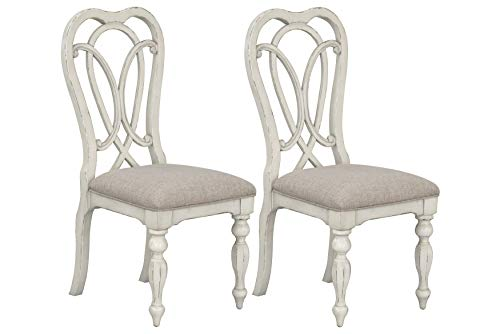 Standard Furniture Giovanni Dining Chair Set, White