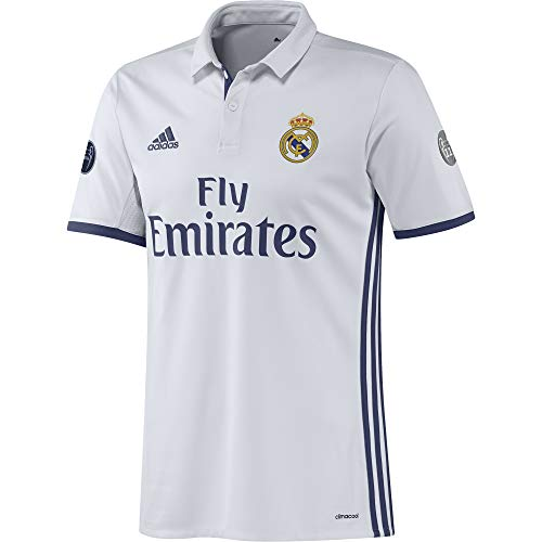 adidas Real Madrid H JSY UCL - Camiseta 1ª Equipación del Real Madrid CF 2015/16 Hombre