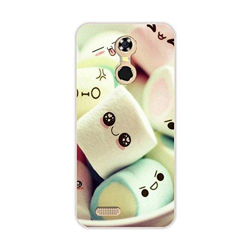 Easbuy Handy Hülle Soft TPU Silikon Case Etui Tasche für OUKITEL C8 3G 4G Smartphone Bumper Back Cover Handytasche Handyhülle Schutzhülle