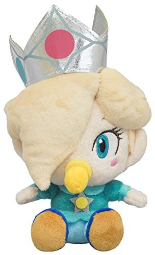 Sanei Boeki Super Mario All Star Collection Baby Rosalina (S) Plush Doll Toy (Japan)