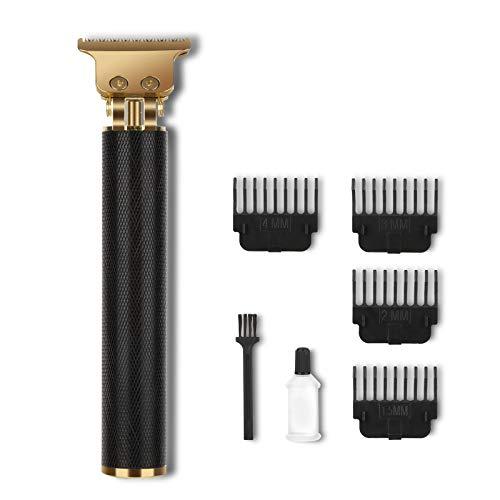 Sendowtek máquina cortapelo,Cortapelos hombre,Recortadora eléctrica para hombres con 4 peines de distancia limitada, Recargable por USB para un corte de pelo eficaz