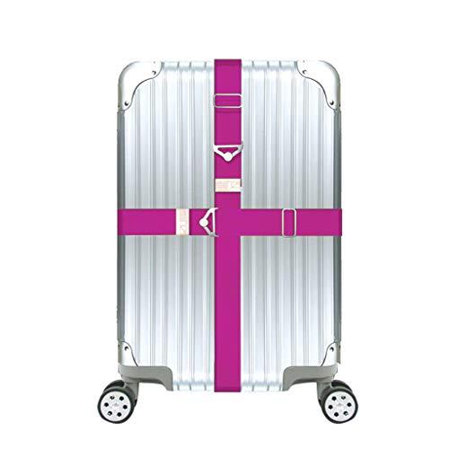 Bagageriemen kofferriemen, Toctax verstelbare reisriem met driehoek gesp, elastische reisriem voor 20