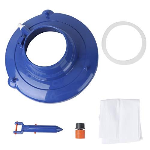 Yardwe - Aspirador de agua para piscina, aspiradora para limpieza de agua y jacuzzi (mango al azar)