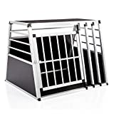 COZY PET Aluminium Car Dog Cage 10 sizes Travel Puppy Crate Pet Carrier Transport Model ACDC08. (We do not ship the Channel Islands)