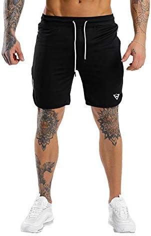 Wangdo Men s Workout Shorts 7 Running Shorts Athletic Bike Shorts Gym Shorts for Men with Zipper product image