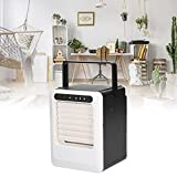 Mini Air Cooler, Mini Portable Air Conditioner 3 Speeds Desktop Air Conditioner Rechargeable for...