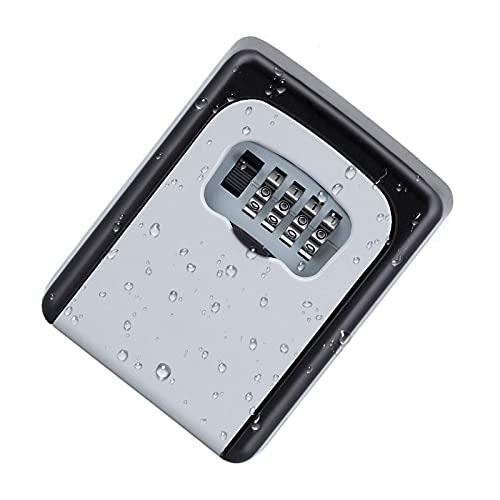 PINGDONGHANG Caja de la cerradura de la llave, cerradura segura montada en la pared de la aleación del cinc del almacenamiento de la