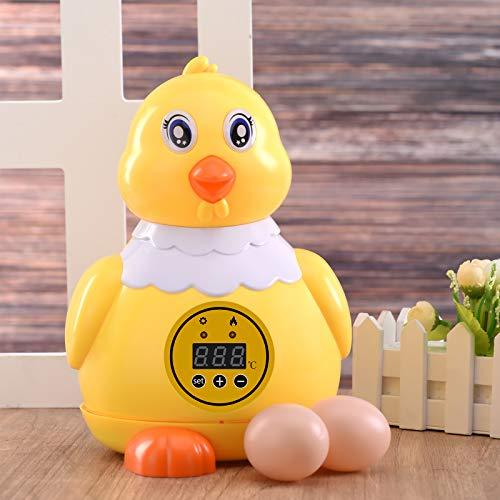 KOSIEJINN Incubatrici per uova, 6 incubatrici automatiche per uova, incubatrice digitale per uova, con controllo della temperatura,dispositivo di allarme per alta e bassa temperatura, usato per covare