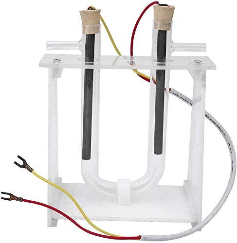 TTSUAI Strumento Sperimentale Chimica Sperimentale Soluzione per Cloruro di Rame Elettrolitico Dimostratore Chimica Sperimentale Strumento Didattico per U-Tube