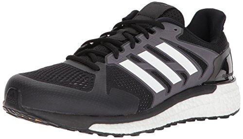 adidas Zapatillas de correr Supernova ST M para hombre, negro (Core Black/White/Grey Three), 48 EU