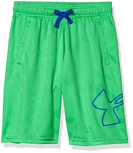 Under Armour Jungen Renegade 2.0 Jacquard Shorts XL Vapor Green (299)/Versa Blue