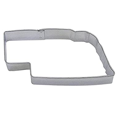R&M Nebraska State Cookie Cutter in Durable, Economical, Tinplated Steel