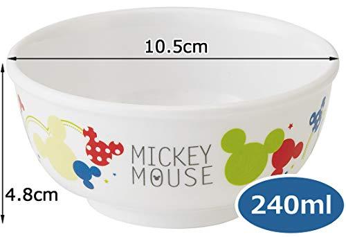 スケーター茶碗メラミンライスボウル240mlミッキーカラフルポップディズニーM320