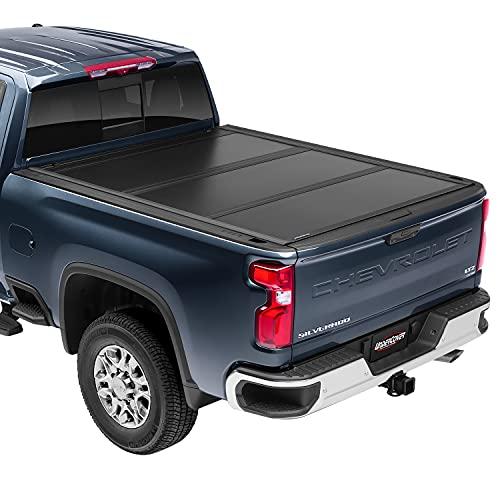 UnderCover Ultra Flex Hard Folding Truck Bed Tonneau Cover | UX22021 | Fits 2017...