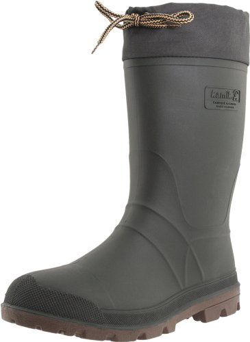 Kamik Men's Icebreaker Cold Weather Boot,Khaki/Brown,12 M US
