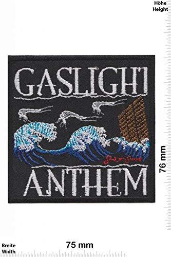 Gaslight Anthem Wave parche patch bordado con logotipo para planchar de hierro en apliques