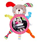 Cartoon Animal Baby Car Mirror - Rear Facing Infant Adjustable Back Seat Shatterproof