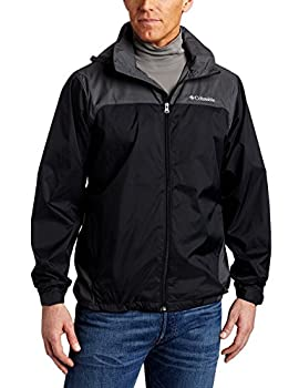 Columbia Men s Glennaker Lake Front-Zip Jacket Black/Grill X-Large