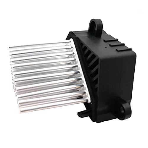 Huhu Coche eléctrico Ventilador Calentador soplador Motor Resistencia 64116923204 64116929580 Ajuste para BMW E46 E39 E83 E53 X5 X3 M5 3/5