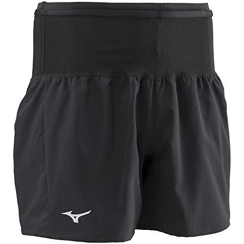 [ミズノ] ランニングウェア マルチポケットパンツ ショートパンツ メンズ ブラック/ブラック(J2MB8510) L